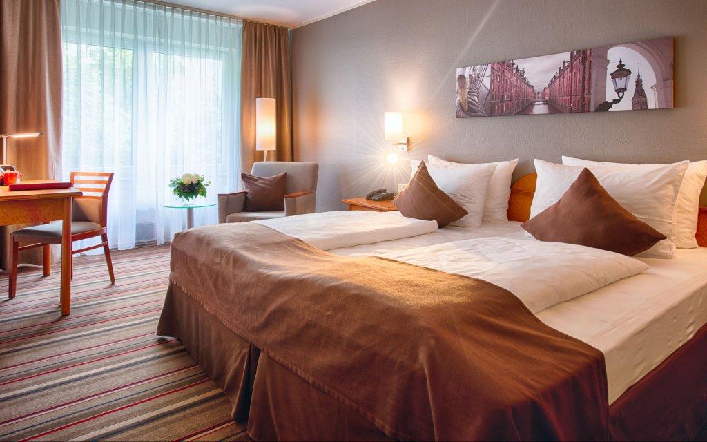Leonardo Hotel Hamburg Airport Zimmer Doppelzimmer