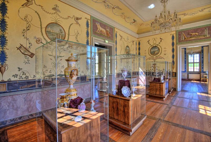 Bulgarisches Zimmer im Schloss Rammenau, Sachsen