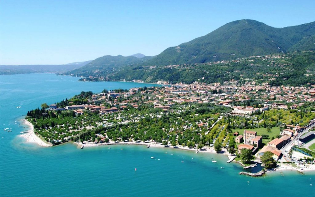 Toscolano-Maderno am Gardasee in Italien