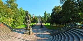 schlossgarten panorama herbst c Tourismus und Kongressmanagement Fulda