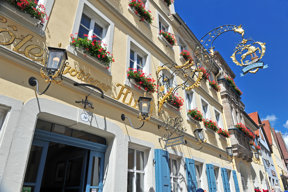 Rothenburg odT Goldener Hirsch01