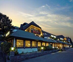 Außenansicht des Hotels Waldachtal