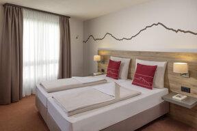 Komfort Maisonette Schlafzimmer