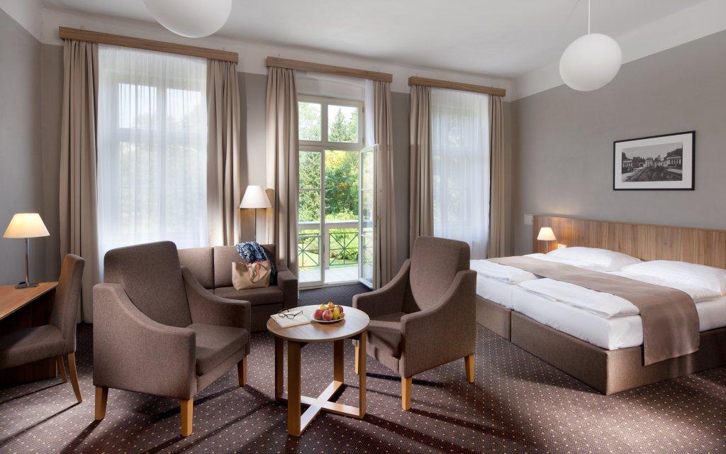 Franzensbad Spa & Kur Hotel Praha Zimmer Doppelzimmer