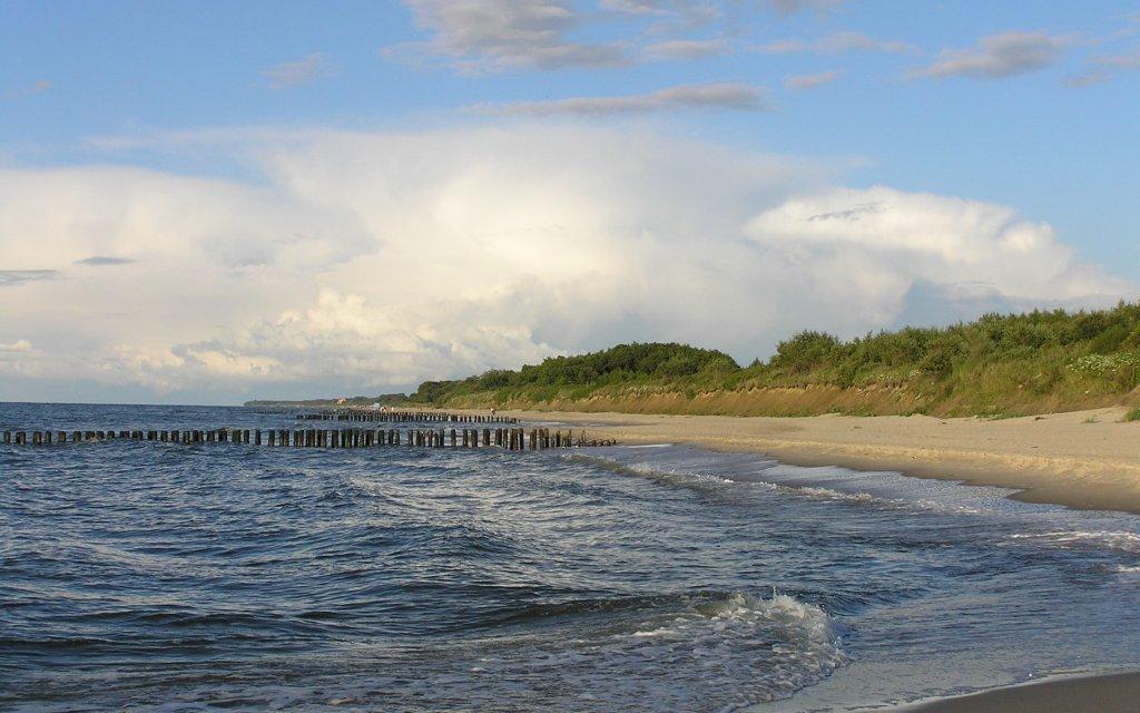 Strand in Ustronie Morskie