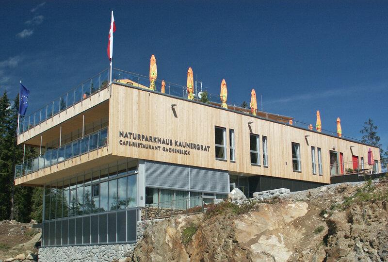 Naturparkhaus Kaunergrat von aussen