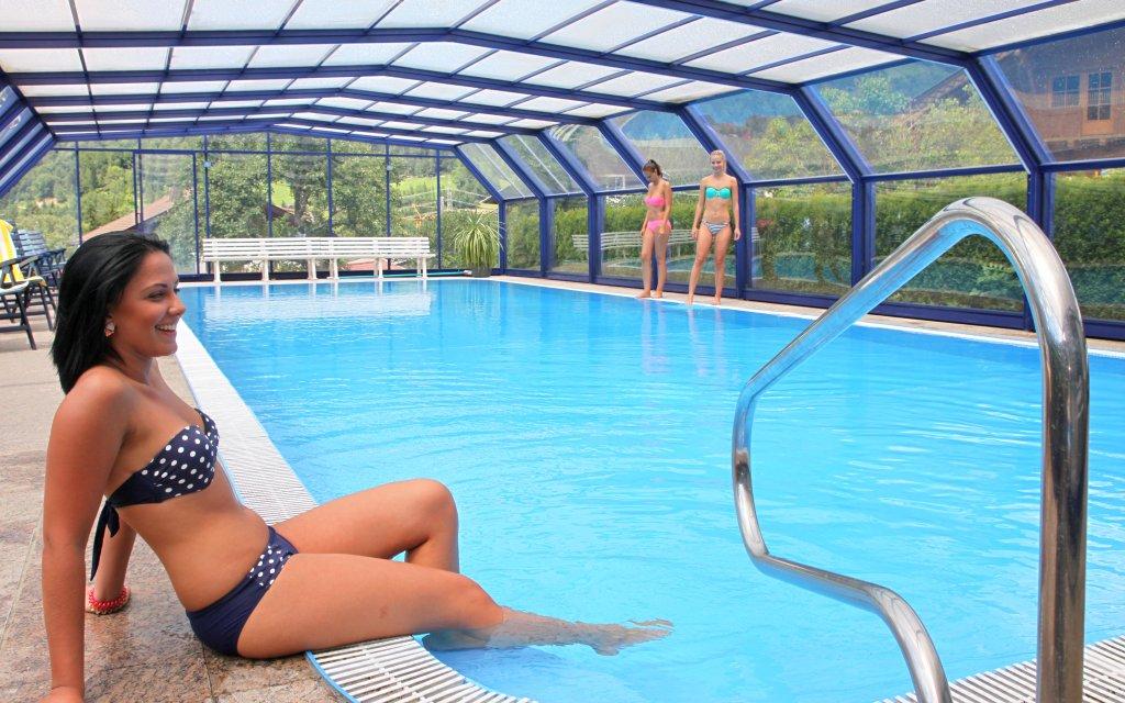 Apartments Margarethenbad Pool