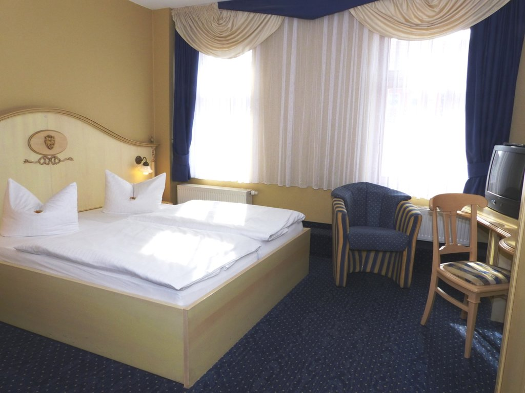 Bad Köstritz Hotel Goldner Loewe Zimmer Doppelzimmer