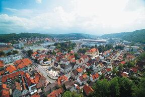 Heidenheim von oben