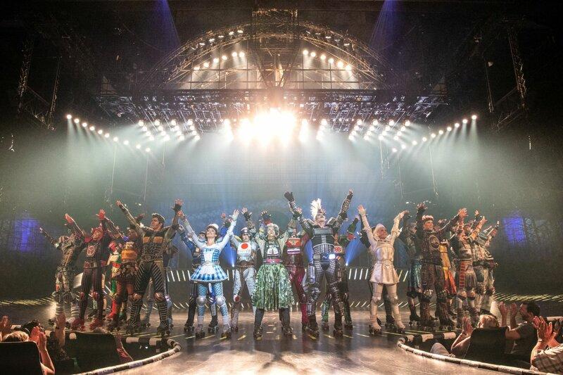 Finale Szene des Musicals