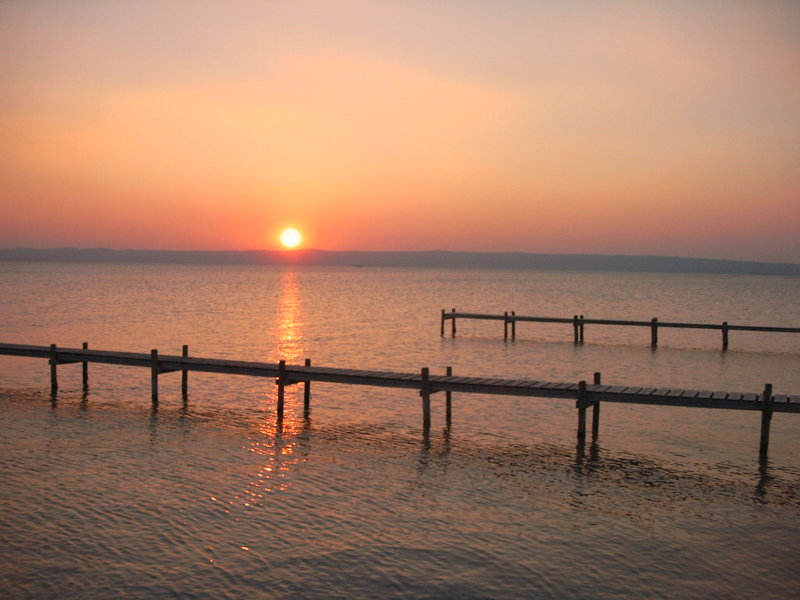 Neusiedler See Sonnenuntergang