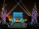 Zauberhaftes Lichtspektakel im Christmas Garden