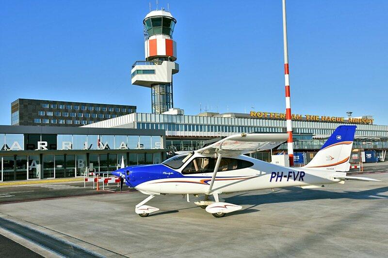 Flugzeug Sand Air