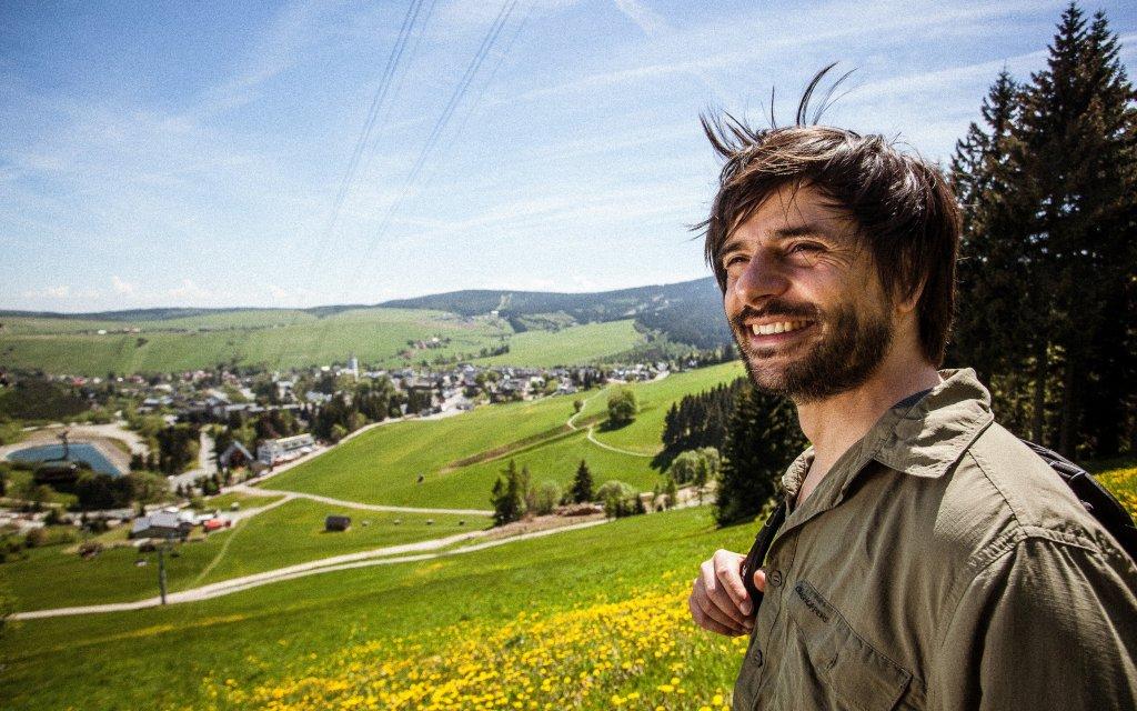 Wanderer in Tschechien