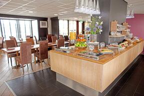 Apollo Hotel Lelystad City Centre Frühstücksbüffet 2
