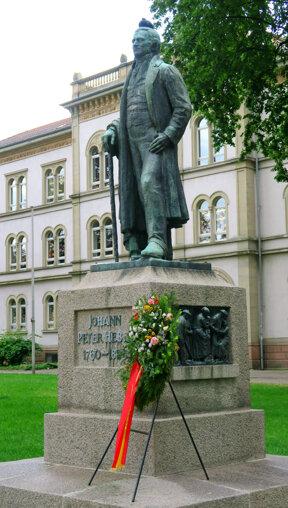 Lörrach Hebel Denkmal Miriam Loth edited