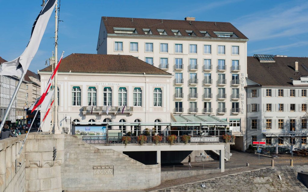Basel Sorell Hotel Merian aussen Außenaufnahme