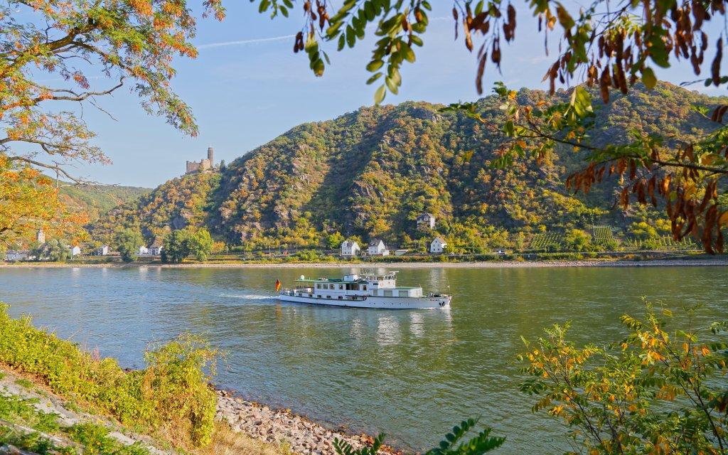 Boot auf dem Mittelrhein