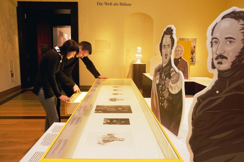 Pückler-Ausstellung im Schloss Bad Muskau