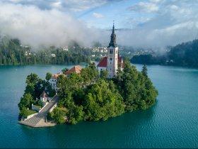 Bled Lake Slovenia c Hotel Triglav 2