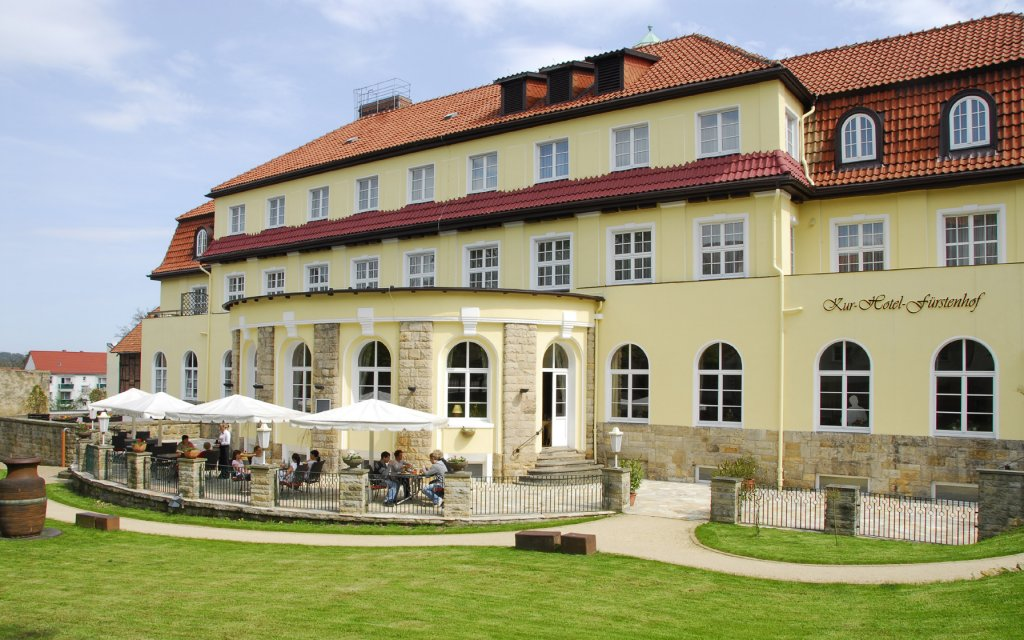 Blankenburg Kurhotel Fürstenhof aussen Außenaufnahme