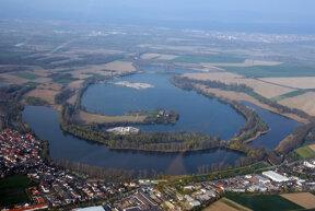 Silbersee Luftbild Ulli 1105