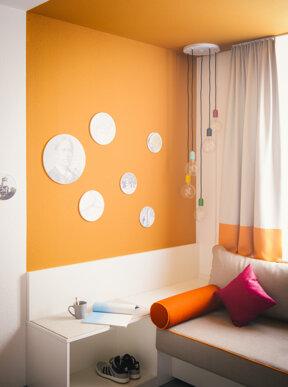 Lounge Zimemr orange 1