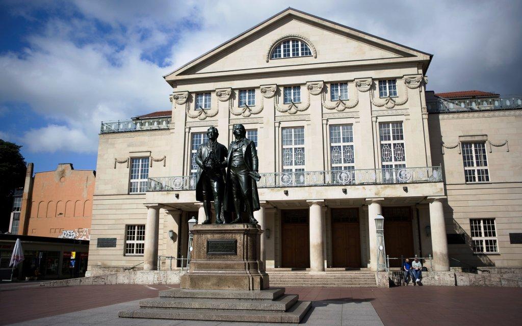 Goethe- und Schiller-Denkmal Weimar