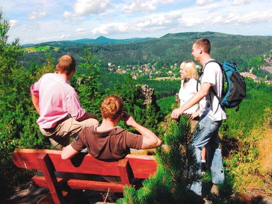 Wandern Zittauer Gebirge c René Pech