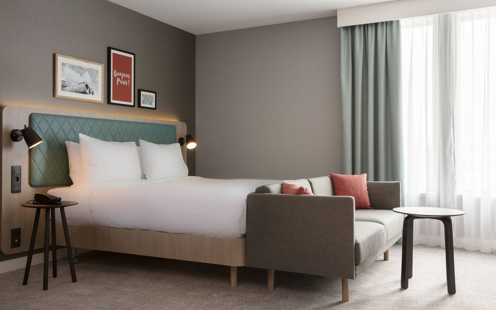 Rungis Hilton Garden Inn Paris Orly Airport Zimmer Doppelzimmer