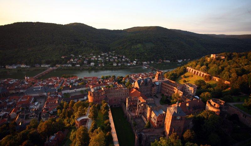 Luftaufnahme Heidelberg