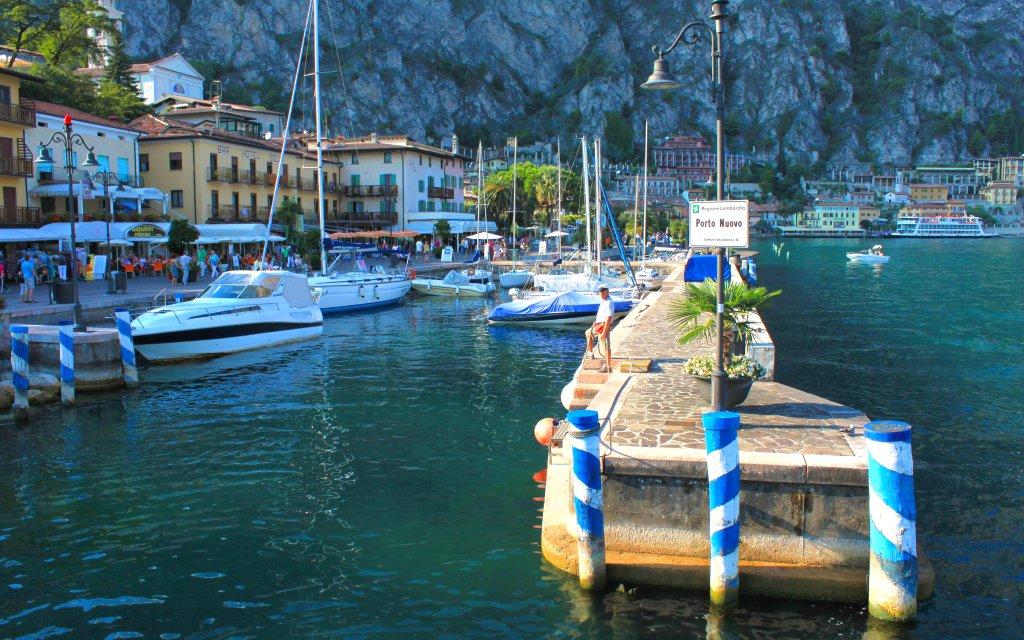 Hafen Porto Nuovo in Limone sul Garda