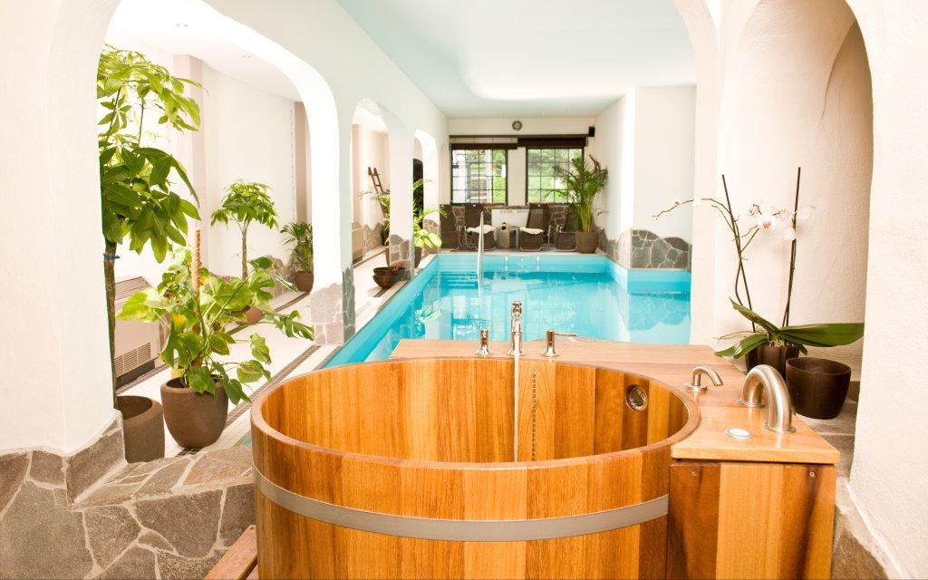 Löf Hotel Lellmann Pool Hallenbad Schwimmbad