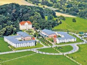 Das Precise Resort Rügen aus der Vogelperspektive.