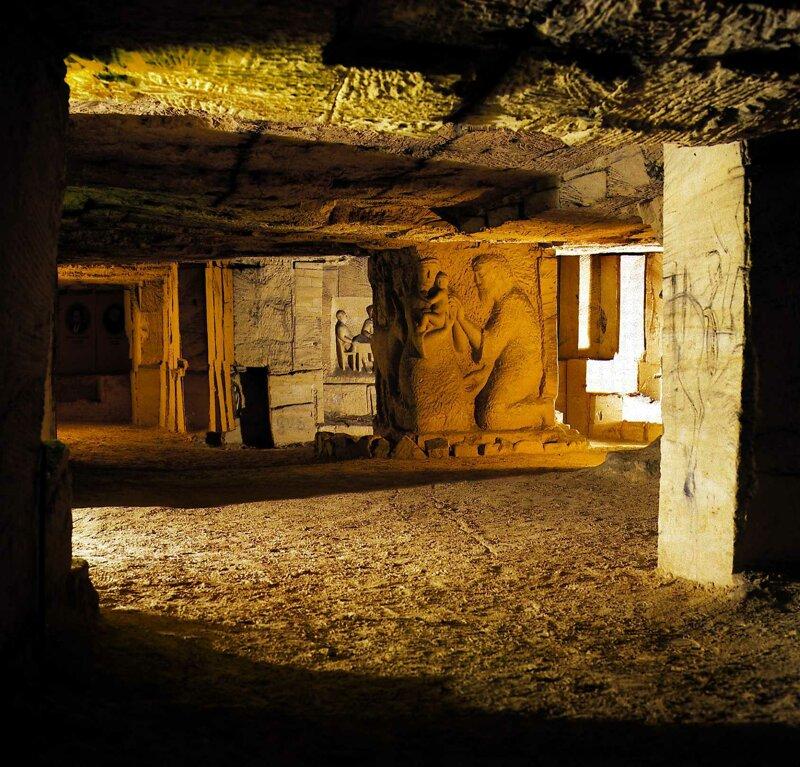 Mergelhöhle in Valkenburg
