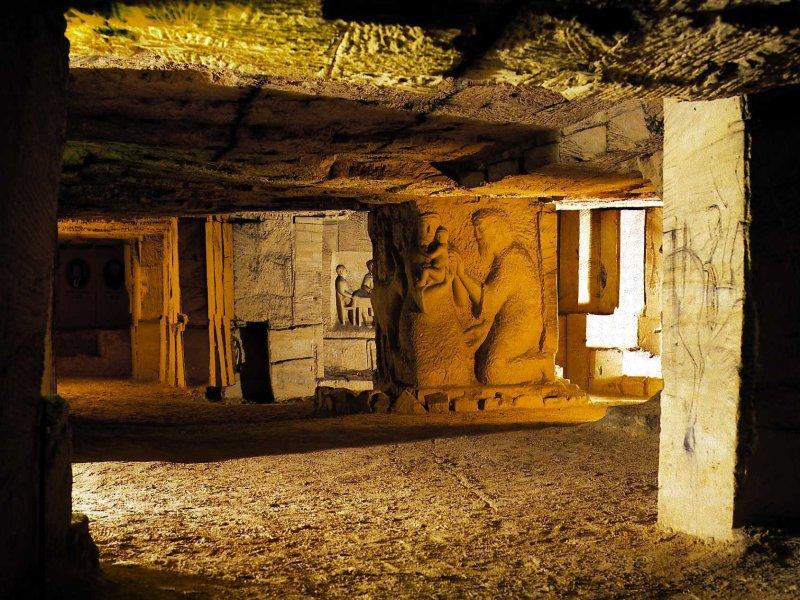 Mergelsteinhöhle Valkenburg
