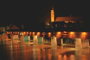 Bad Säckingen bei Nacht