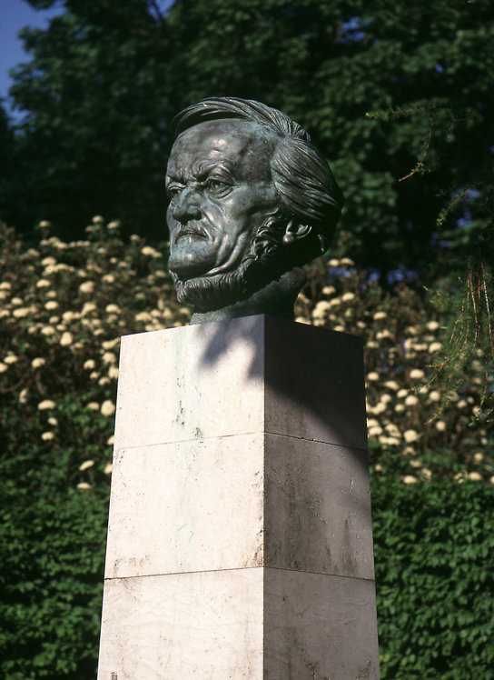 Bayreuth Wagner Büste