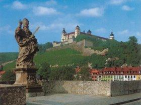 0075 Führungsbild, Festung und Alte Mainbrücke c Würzburg