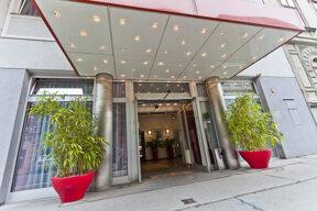 Eingangsbereich Hotel Boltzmann in Wien
