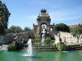 Wasserspiel Barcelona