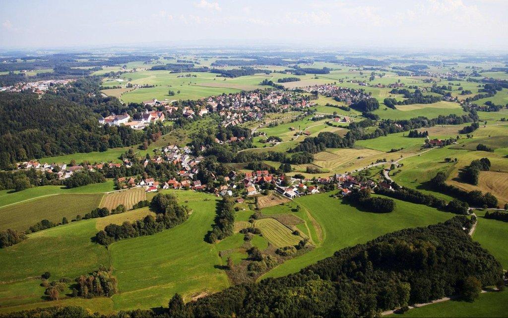 Luftbild Wolfegg