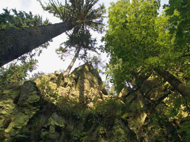 das Höllental im Frankenwald