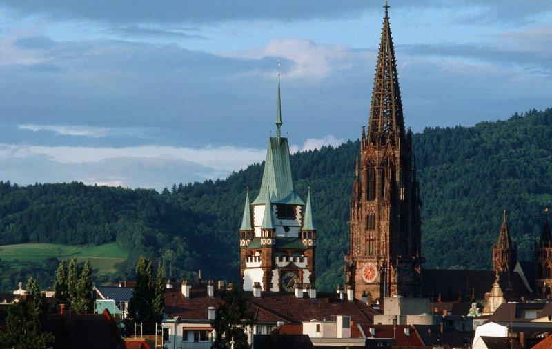 Münster Freiburg und Martinstor