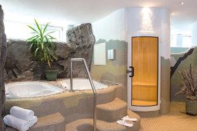 Saunabereich Victors Residenz Hotel Frankenthal © Barbara Heinz