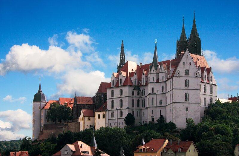 Albrechtsburg in Meißen Außenansicht