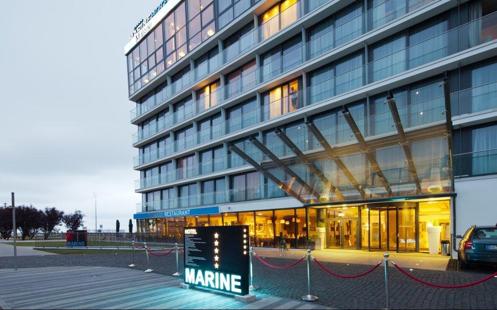 Kolberg Hotel Marine aussen Außenbereich