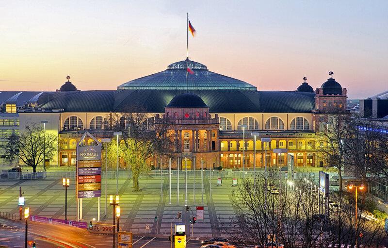 Festhalle Frankfurt Außenansicht