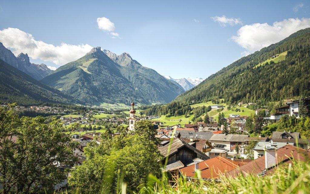 Fulpmes im Stubaital in Österreich