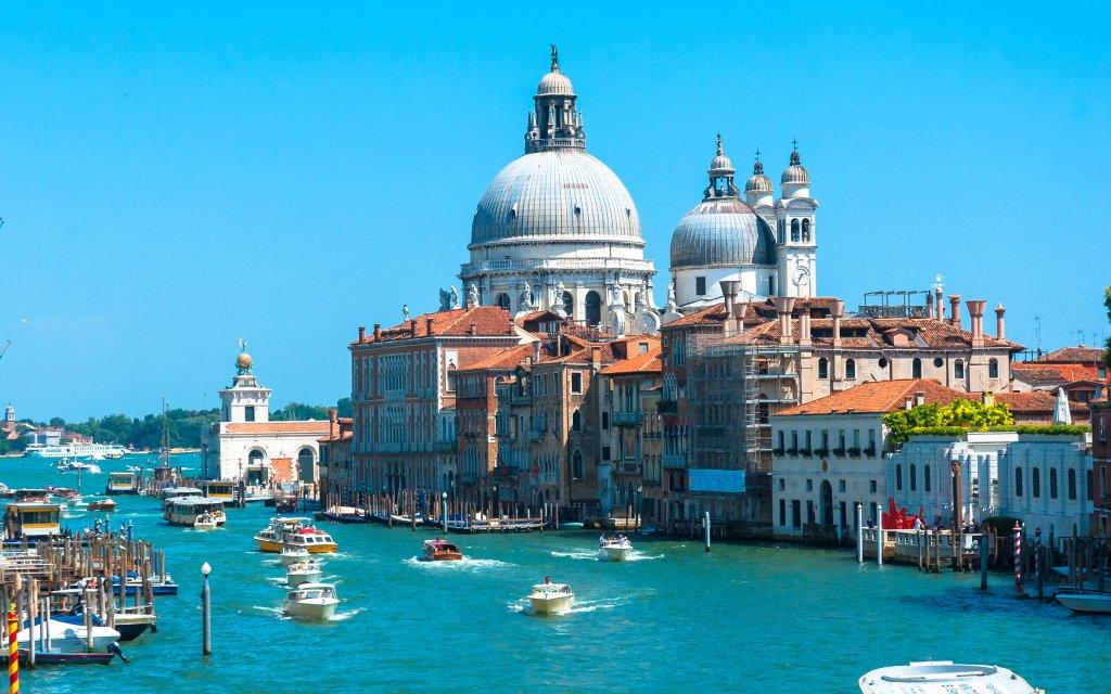 Venedig am Canal Grande